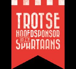 Trotse hoofdsponsor Sparta Rotterdam